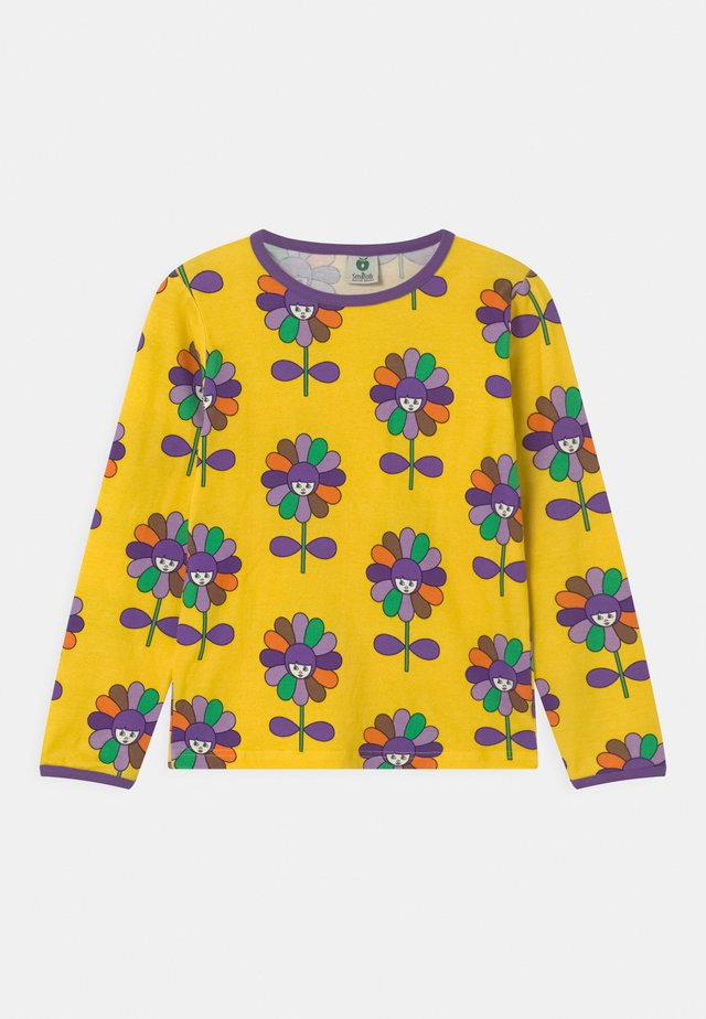 FLOWERS UNISEX - Langærmede T-shirts - yellow