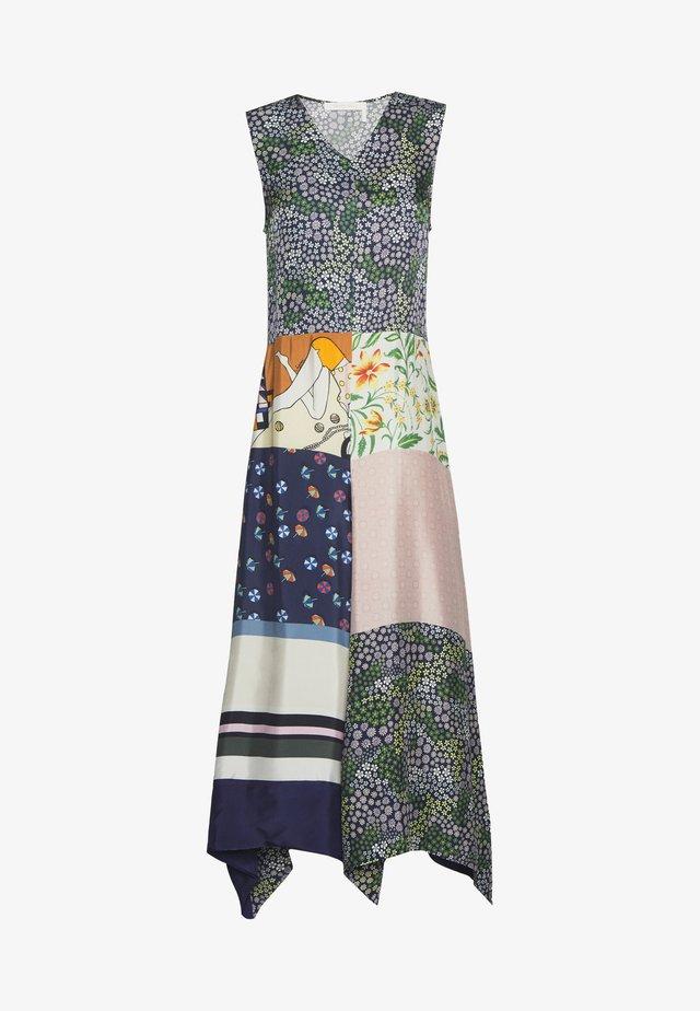 Robe longue - multicolor
