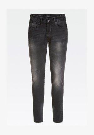 USED-OPTIK - Jeans slim fit - schwarz
