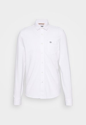 ALPHA BUTTON UP - Camisa - paper white