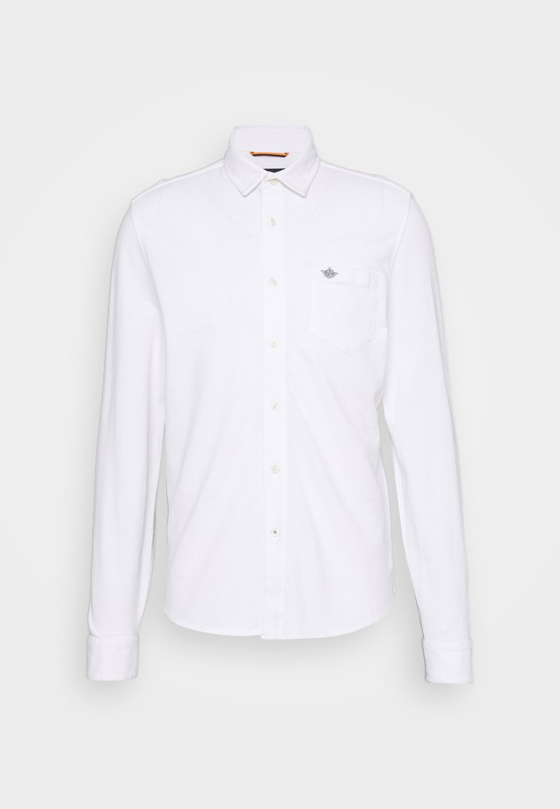 DOCKERS - ALPHA BUTTON UP - Shirt - paper white