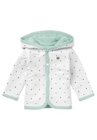 Noppies - Zip-up hoodie - grey mint - 2