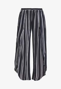 SUMMER SEA STRIPE PANT - Beach accessory - navy