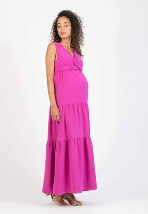 NOEMI - Vestito lungo - lilac