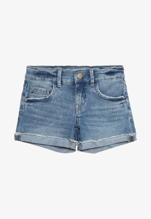 Jeansshorts - light blue denim