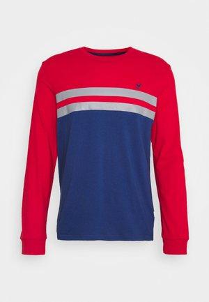 Långärmad tröja - red/ blue