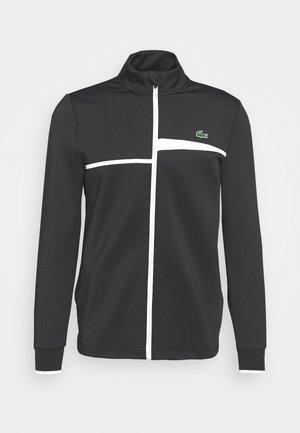 TENNIS JACKET - Training jacket - black/white