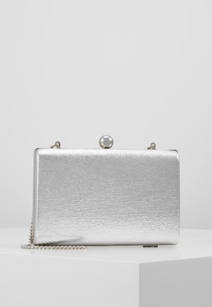 BALL CLASP BOX  - Clutches - silver