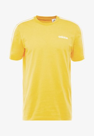 ESSENTIALS SPORTS SHORT SLEEVE TEE - Print T-shirt - yellow