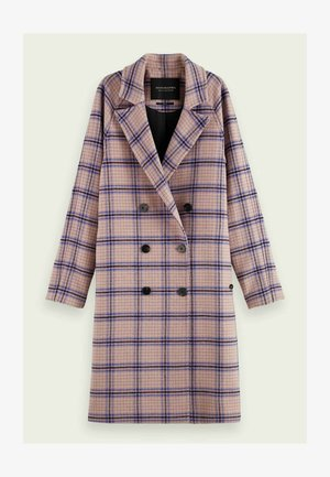 DOUBLE BREASTED CLASSIC BLEND - Classic coat - combo t