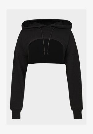 SWEATY BETTY X HALLE BERRY NISI SUPER CROP HOODY - Sweatshirt - black
