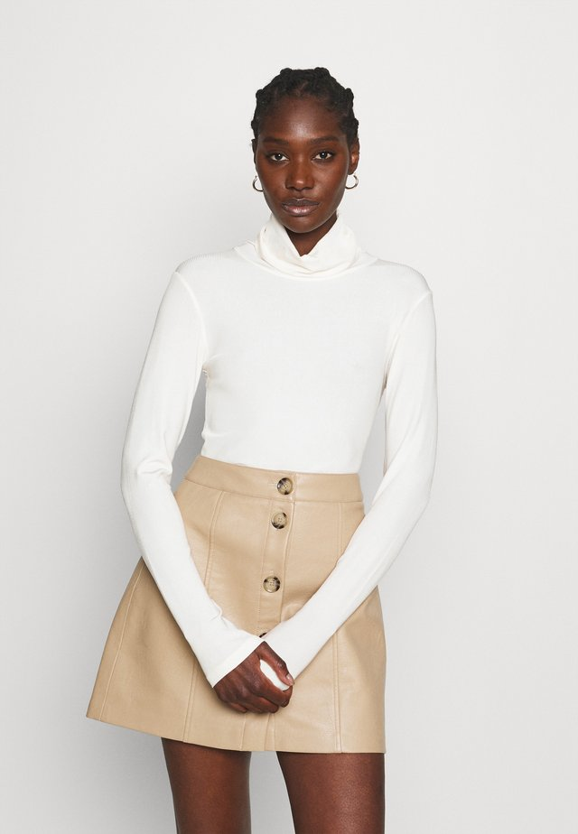 BEA BLOUSE - Long sleeved top - white
