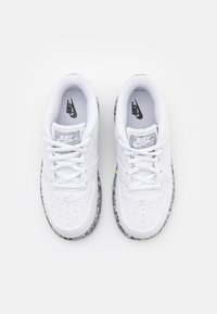 Nike Sportswear - FORCE 1 - Baskets basses - white/metallic silver - 3