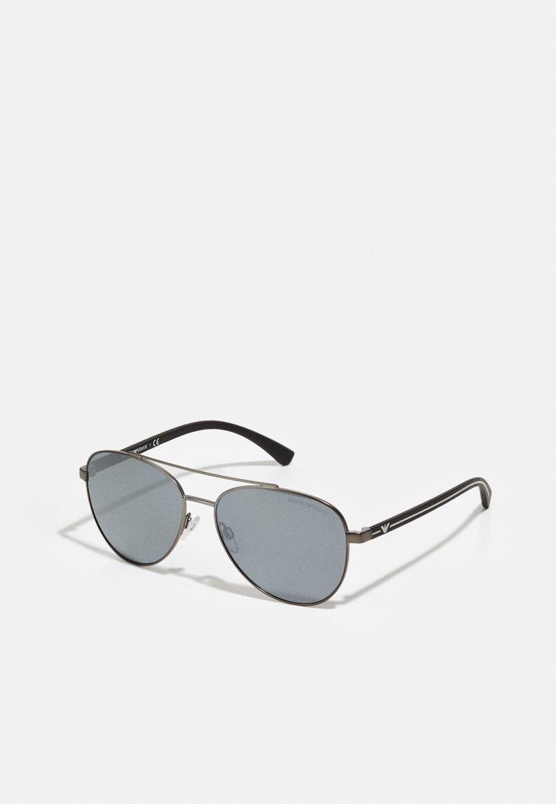Emporio Armani - Sunglasses - matte gunmetal