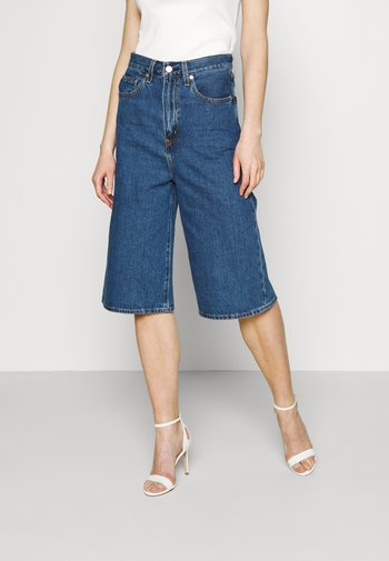 HIGH LOOSE CULOTTE - Shorts di jeans - lazy sunday