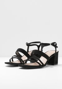 Miss Selfridge Wide Fit - WIDE FIT STORMI BLOCK - Sandaler - black - 4