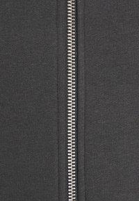 Zign - Huvtröja med dragkedja - dark grey - 3