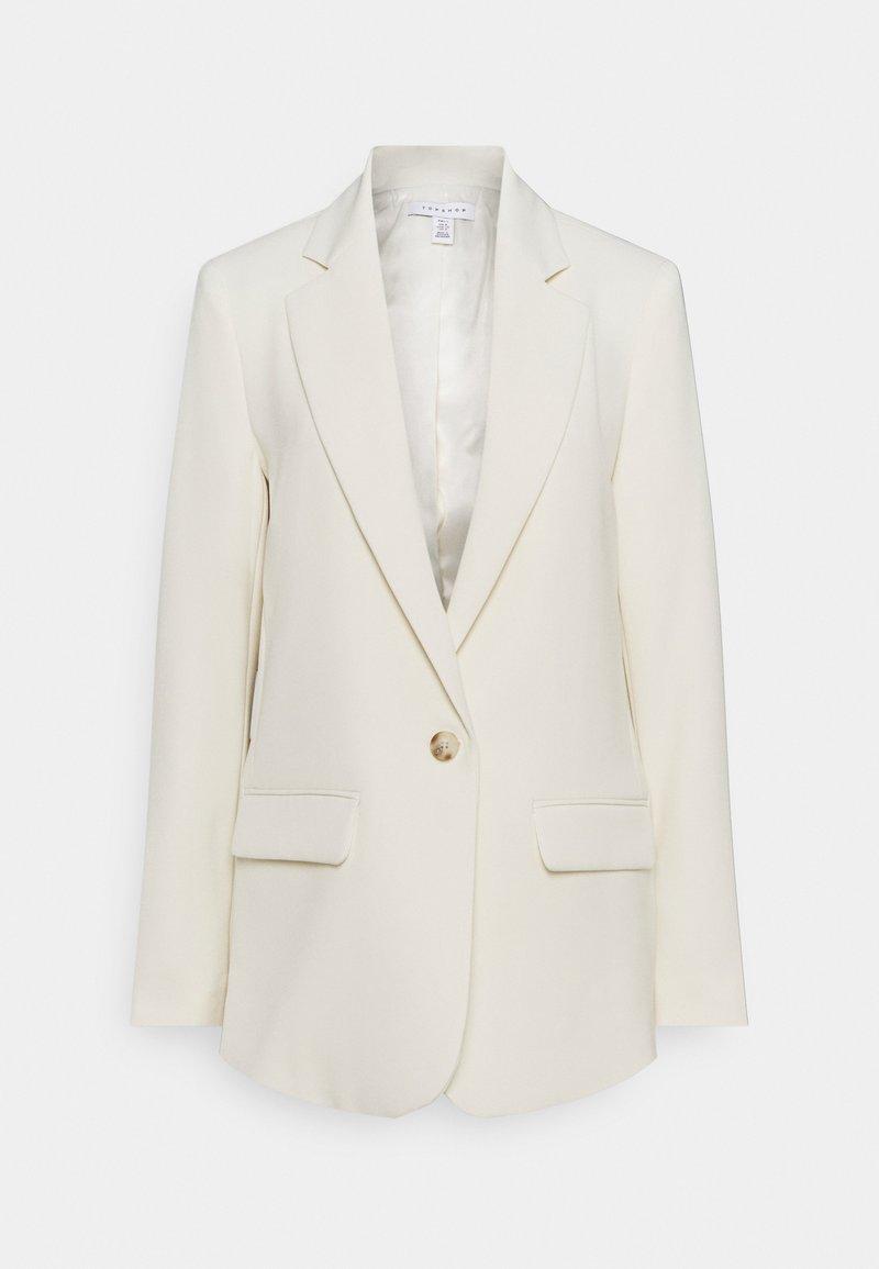 Topshop Tall - CLEAN - Short coat - ivory