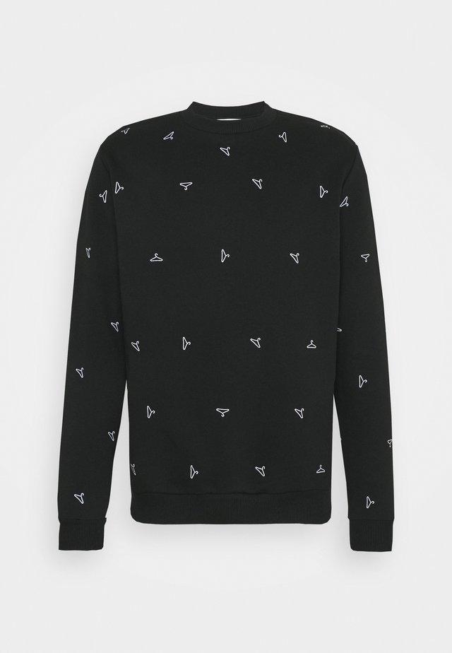 RAINBOW HANGER  - Sweatshirt - black