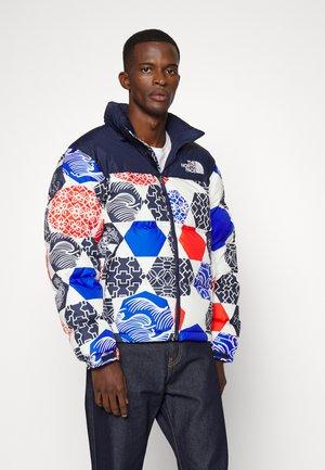 PRINTED RETRO NUPTSE JACKET UNISEX - Down jacket - blue