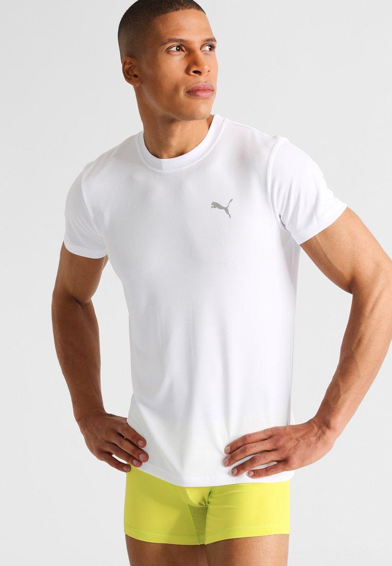Men Undershirt - white