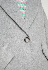 Topshop - EFFIE BRUSHED COAT - Manteau classique - grey - 5