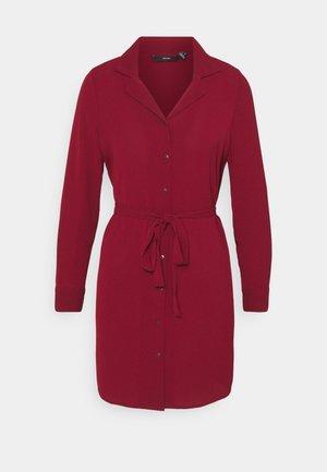 VMSAGA DRESS - Denní šaty - cabernet