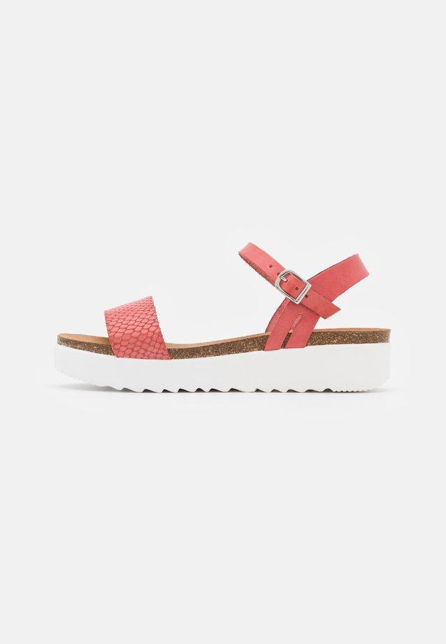 EDEN - Platform sandals - rosita