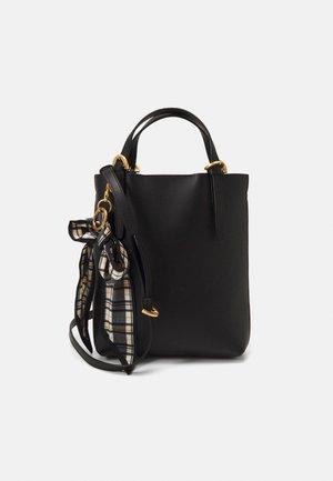 POSEN MINI TOTE SOLID BOW - Handbag - black