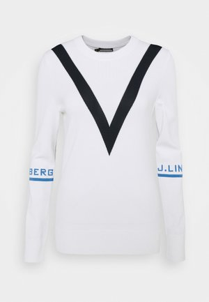 ADRIENNE GOLF - Jumper - white