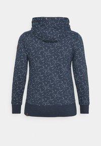 Ragwear Plus - YODA ORGANIC - Zip-up hoodie - navy - 7