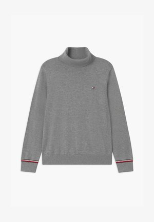 ESSENTIAL TURTLE NECK  - Svetr - grey