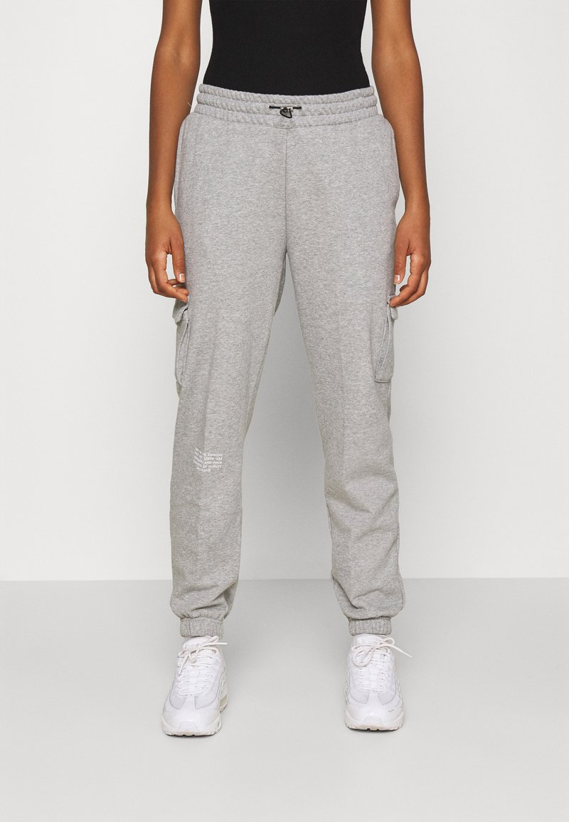 Nike Sportswear - PANT - Tracksuit bottoms - grey heather/white