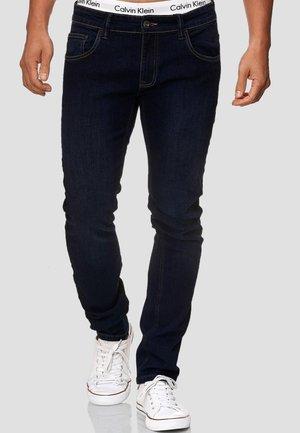 STRETCH - Slim fit jeans - dark-blue