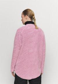 Eivy - REDWOOD SHERPA JACKET - Fleece jacket - dusty pink - 2