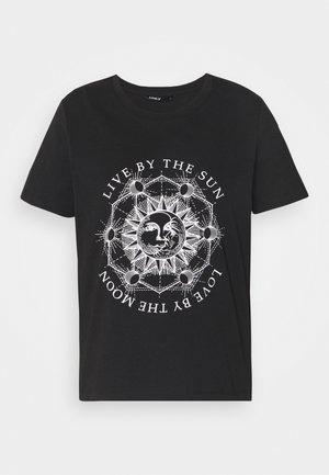 ONLSYMBOL - Print T-shirt - black