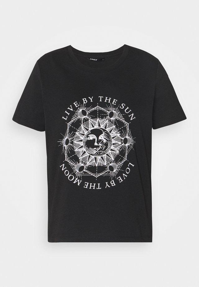 ONLSYMBOL - T-shirt z nadrukiem - black