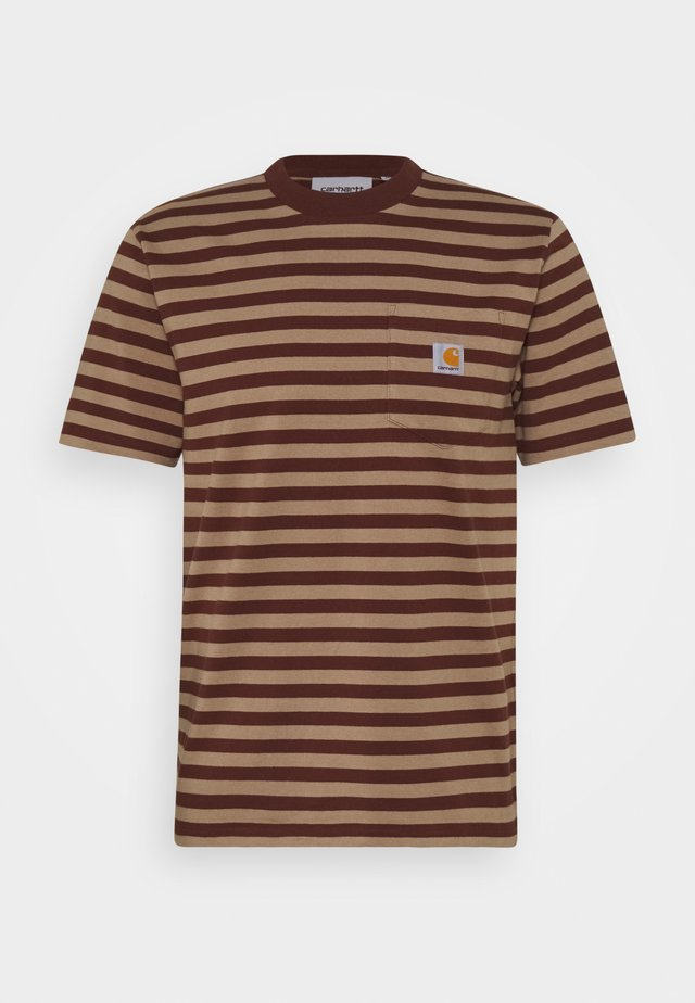 SCOTTY POCKET  - T-shirt print - tanami