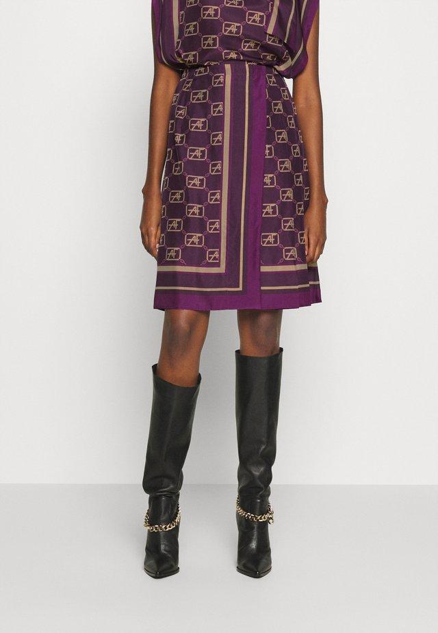 SKIRT - A-line skirt - violet