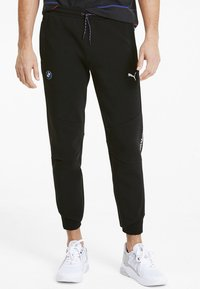 Puma - PUMA BMW M MOTORSPORT MEN'S SWEATPANTS MALE - Pantalon de survêtement - puma black - 0