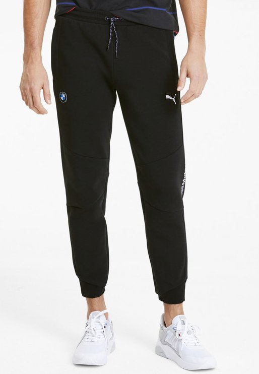 Puma - PUMA BMW M MOTORSPORT MEN'S SWEATPANTS MALE - Pantalon de survêtement - puma black