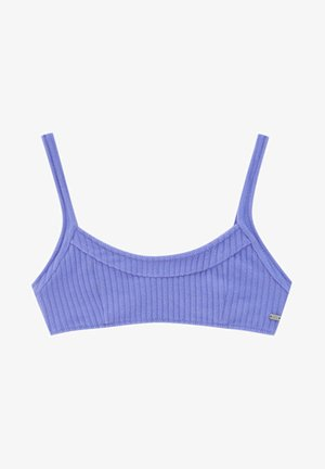 Bikini top - mottled dark purple
