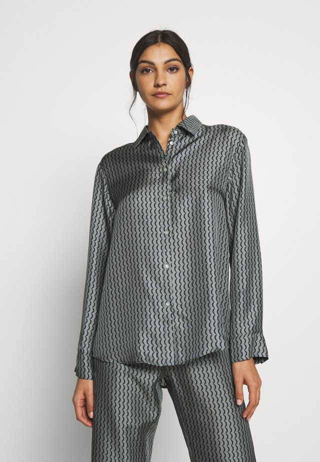 LONDON - Pyjamashirt - grey/black