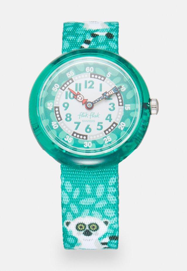 CURIOUS LEMUR UNISEX - Uhr - green