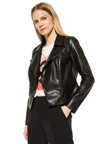 comma - Faux leather jacket - black - 4