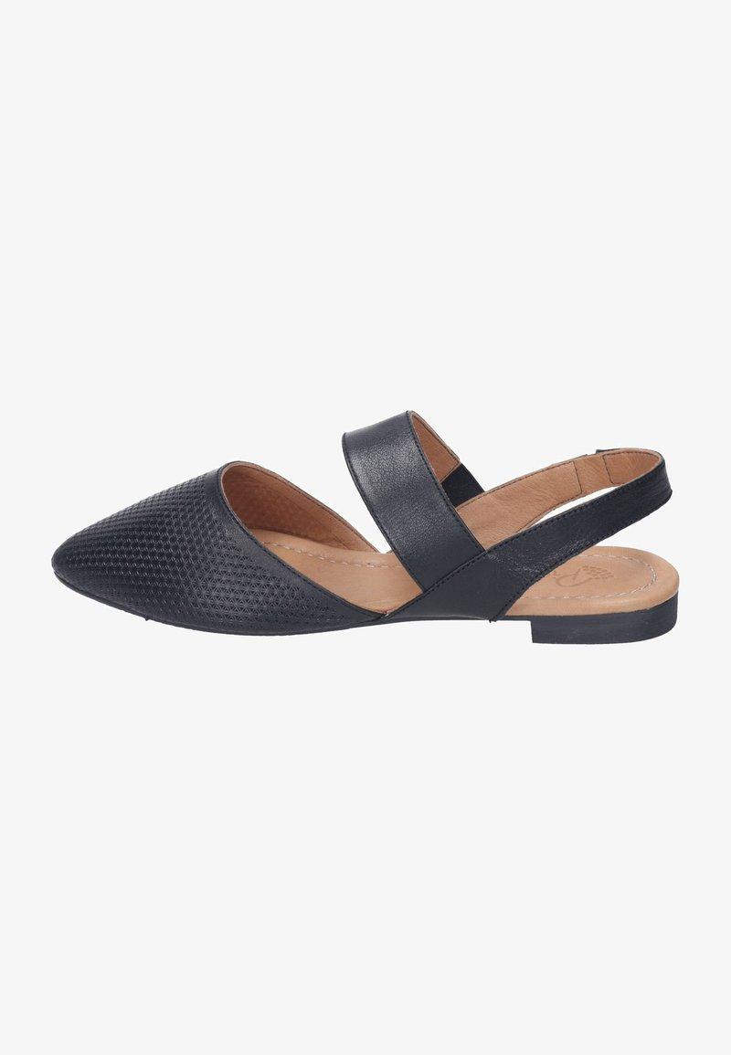Piazza - Ankle strap ballet pumps - schwarz