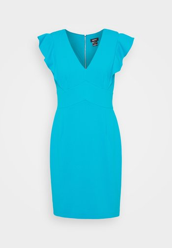Jersey dress - spring navy