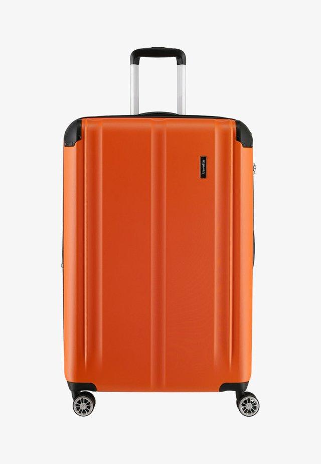 CITY 4-ROLLEN TROLLEY - Wheeled suitcase - orange