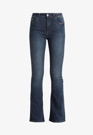 NATASHA - Bootcut jeans - dark blue