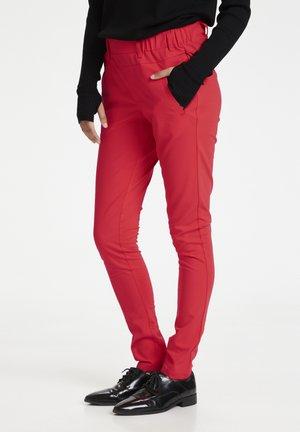 JILLIAN SOFIE  - Spodnie materiałowe - poppy red